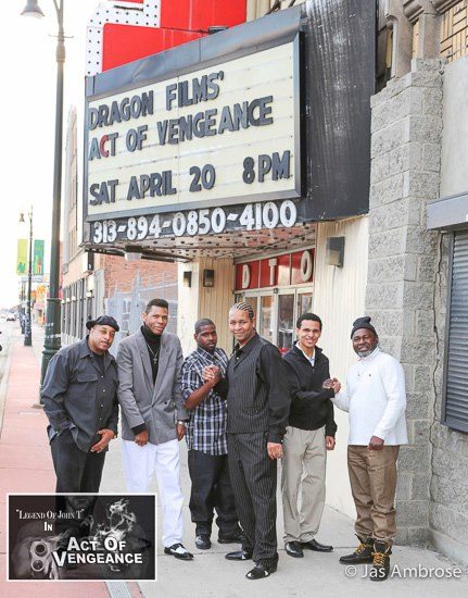 Act Of Vengeance Movie Premiere